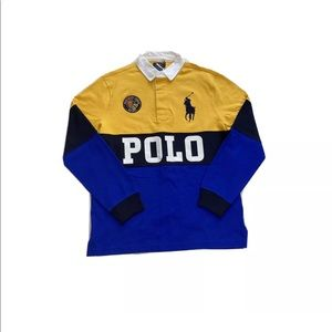 Polo Ralph Lauren Big Pony Spell Out Rugby Shirt